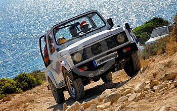 Сафари на джипах по Корфу