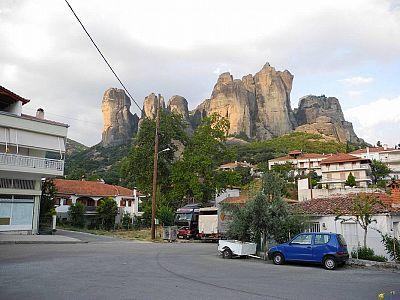 Жилые кварталы Каламбаки