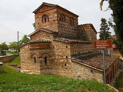 Византийский храм святого Стефана. XI век.
