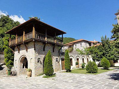 Олимп. Новый монастырь святого Дионисия Олимпийского
