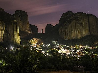 Ночные огни Каламбаки