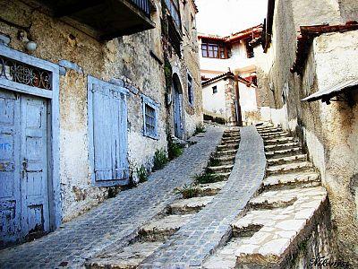 Старинные домики Араховы