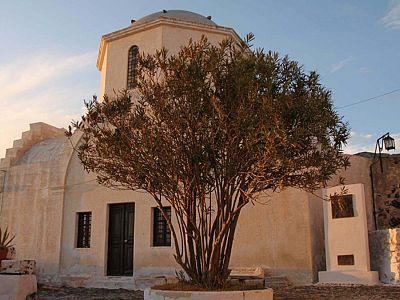 Церковь в Санторини
