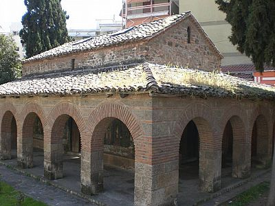 Храм Воскресения Христова в центре Верии