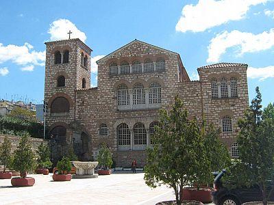 Храм покровителя Салоник святого Великомученика Димитрия
