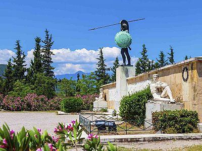 Монумент царю Леониду