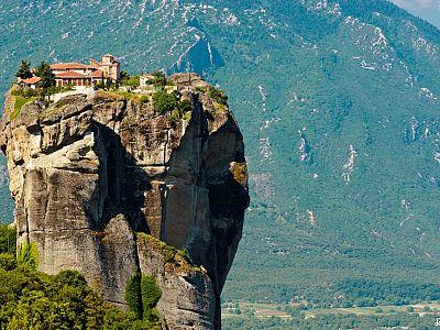МЕТЕОРА Монастырь святой Троицы