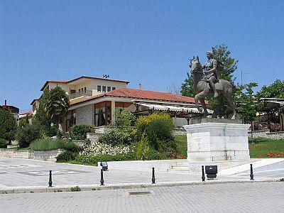 Площадь Александра Македонского
