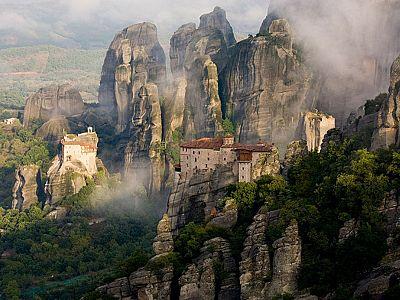 Монастыри Метеора.