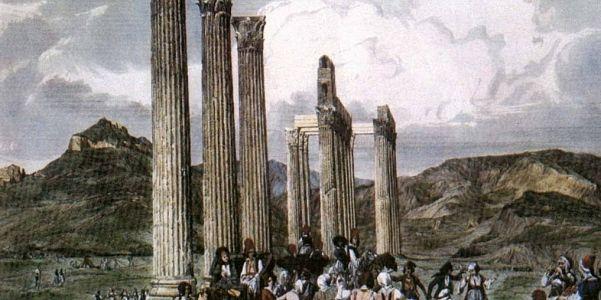 Арка Адриана и Храм Зевса Олимпийского