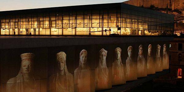 Новый музей афинского Акрополя