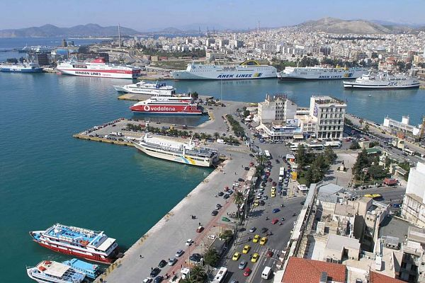 Город-порт Пирей