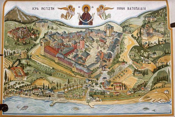 Монастырь Ватопед.