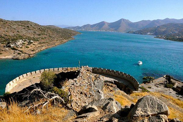 Остров-крепость Спиналонга и Затонувший город Олус