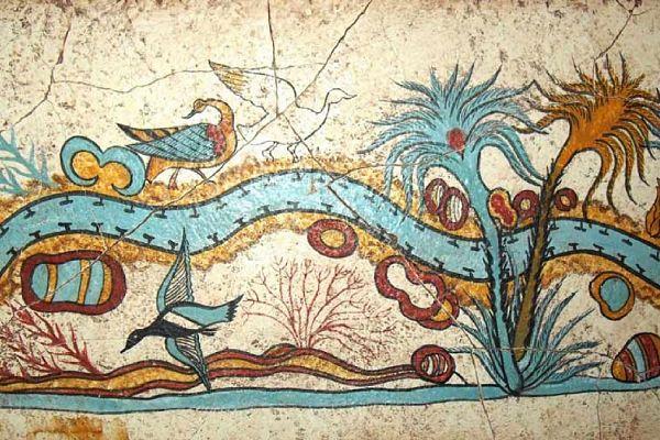 Эмоциональные фрески Акротири