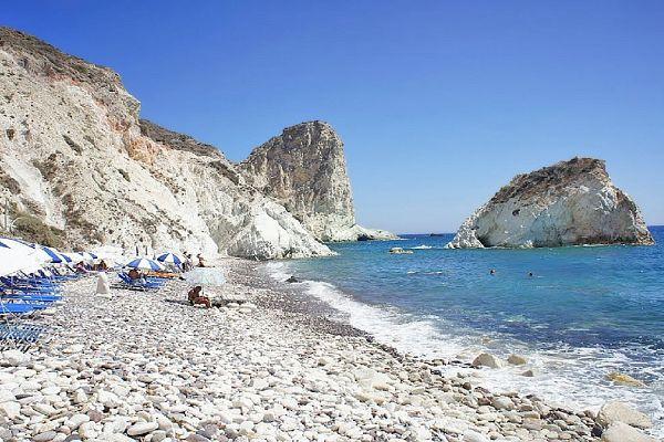 Райские пляжи Санторини
