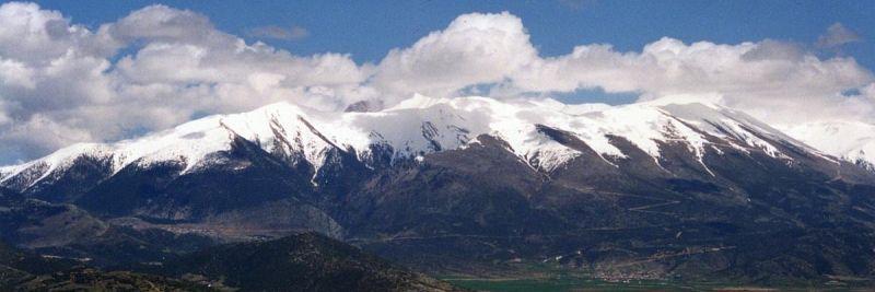 Гора Олимп – воплощение древнегреческих мифов